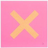 Lot 25 - Chris Levine (British b.1960), 'Marks The Spot (Orange On Pink)', 2018