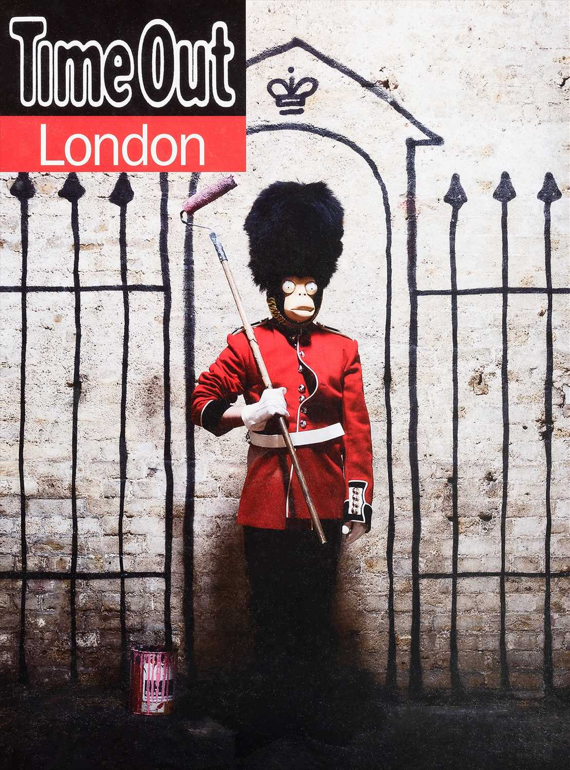 Lot 95-Banksy (British 1974-), 'Time Out London', 2010