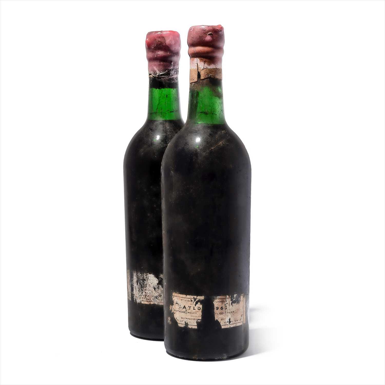 Lot 3-2 bottles 1963 Taylor