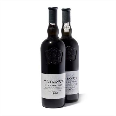 Lot 15-7 bottles Mixed Taylor Vintage Port