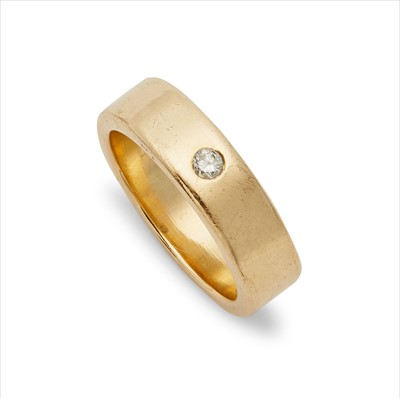 Lot 15-A diamond ring.