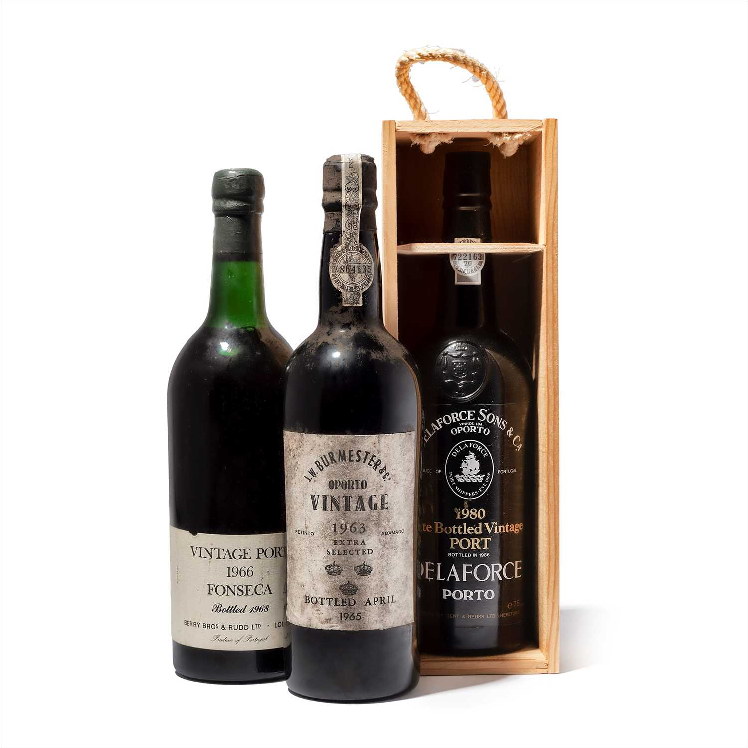 Lot 2-3 bottles Mixed Port