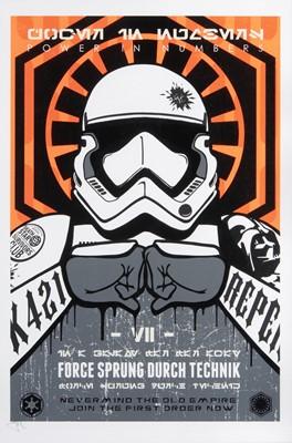 Lot 65 - JJ Adams British b.1978), 'First Order (Jedi & Dark Side)'