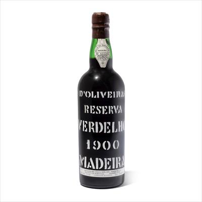 Lot 22-1 bottle 1900 D'Oliveiras Verdelho Reserva
