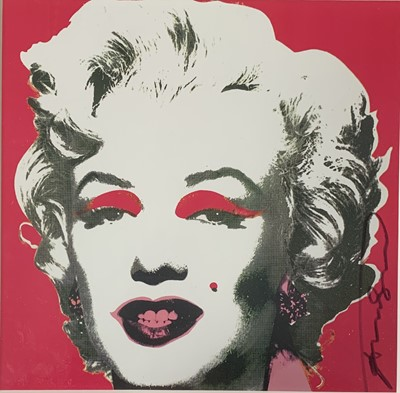 Lot 4-Andy Warhol (American 1928-1987), 'Marilyn Monroe Castelli Graphics Invitation', 1981