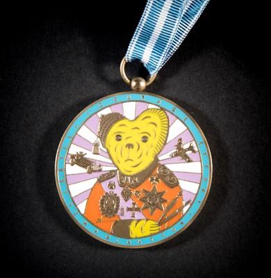 Lot 57 - Grayson Perry (British b.1960), 'Artists' Medal', 2018