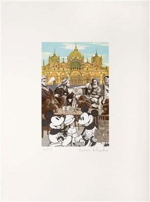 Lot 113 - Peter Blake (British b.1932), 'Venice Fantasies, De Luxe', 2009 & 'Mickey's Birthday Party'