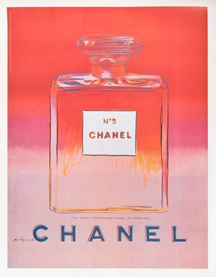 Lot 2-Andy Warhol (American 1928-1987), 'Chanel No.5', 1997