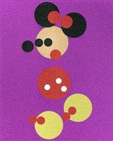 362 - Damien Hirst (British b.1965), 'Minnie - Pink Glitter (Large)', 2016