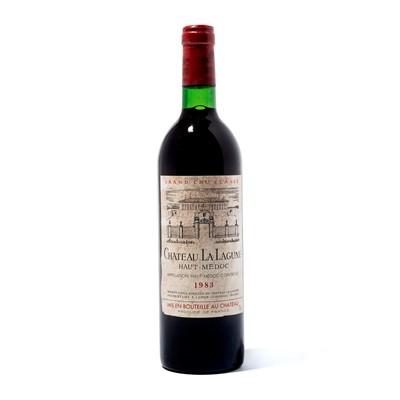 Lot 73-12 bottles 1983 Ch La Lagune