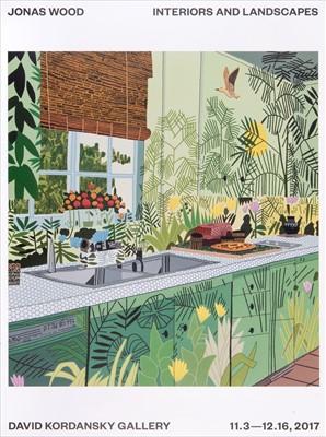 Lot 67 - Jonas Wood (American b.1977), 'Interiors And Landscapes', 2017