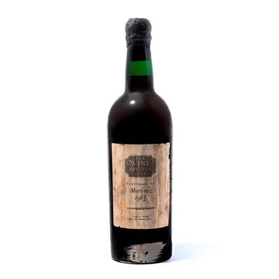 Lot 3-9 bottles 1963 Martinez