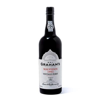 Lot 6-12 bottles 1995 Graham Malvedos
