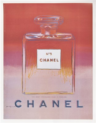 Lot 5-Andy Warhol (American 1928-1987), 'Chanel No.5', 1997