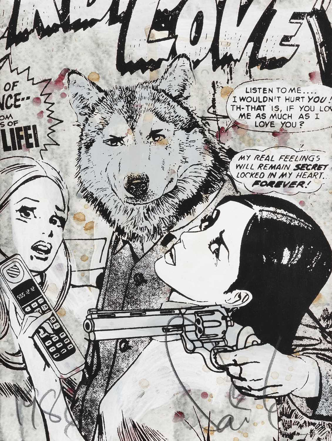 Lot 87 - Faile  (Collaboration), 'Forbidden Forever', 2007