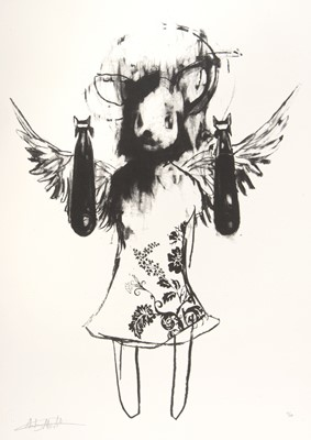 Lot 5-Antony Micallef (British b.1975), 'Light Angel Bomber 1', 2006