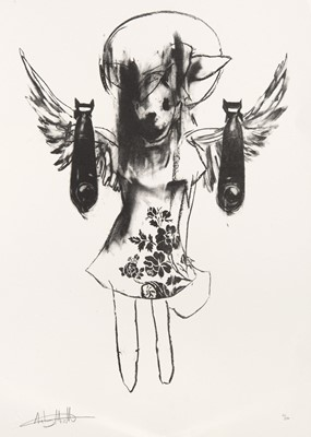 Lot 6-Antony Micallef (British b.1975), 'Light Angel Bomber 2', 2006