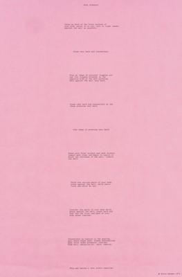 Lot 12-Bruce Nauman (American 1941-), 'Body Pressure', 1974