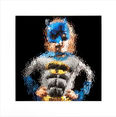 Lot 80 - Marcus Harvey (British b.1963), 'Batman', 2012