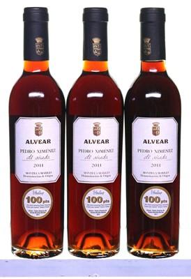 Lot 4-3 bottles 2011 PX de Anada Alvear