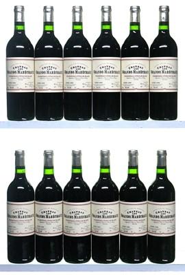 Lot 30-12 bottles 1999 Chateau Les Grands Marechaux