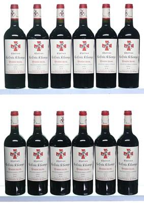 Lot 44-12 bottles 2001 Chateau La Croix St George