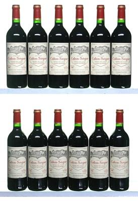 Lot 32-12 bottles 2000 Chateau Calon-Segur
