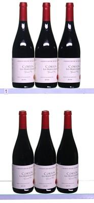 Lot 247-6 bottles 2010 Corton Les Marechaudes Roche de Bellene