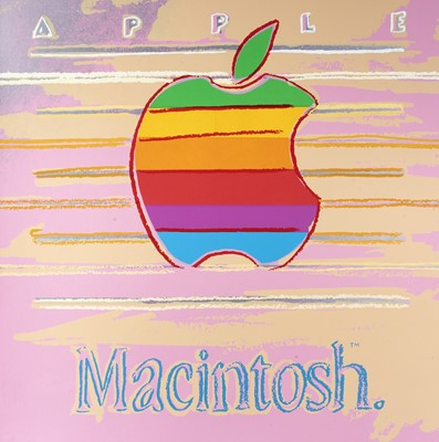 Lot 2-Andy Warhol (American 1928-1987), 'Apple (Macintosh), from Ads Series', 1985