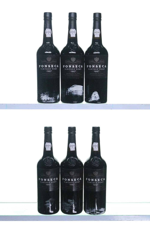 Lot 3 - 6 bottles 1997 Fonseca