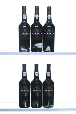 Lot 3-6 bottles 1997 Fonseca