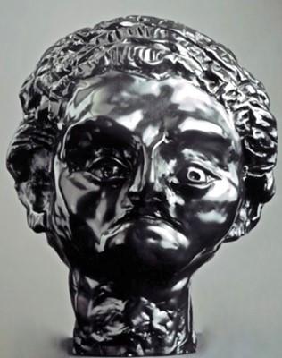 Lot 8-George Condo (American 1957-), 'Phoenician Boy', 2002