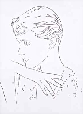 Lot 5-Andy Warhol (American 1928-1987), 'Unidentified Woman', 1982