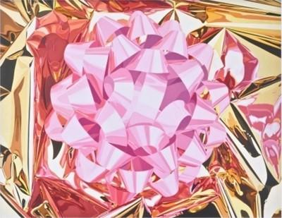 Lot 6-Jeff Koons (American 1955-), 'Pink Bow', 2013