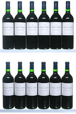 Lot 8-12 bottles 1995 Chateau Robin