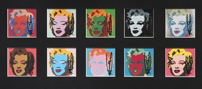 Lot 6-Andy Warhol (American 1928-1987), 'The 10 Marilyn's', 1967