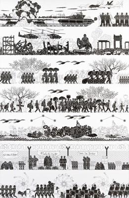 Lot 1-Ai Weiwei (Chinese 1957-), 'The Odyssey', 2017
