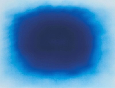 Lot 4-Anish Kapoor (British 1954-), 'Breathing Blue', 2020