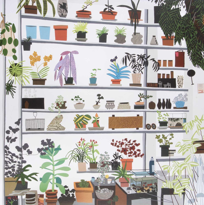 Lot 39 - Jonas Wood (American 1977-), 'Large Shelf Still Life Poster', 2017