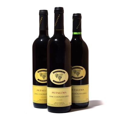 Lot 122-11 bottles Mixed Petaluma Coonawarra