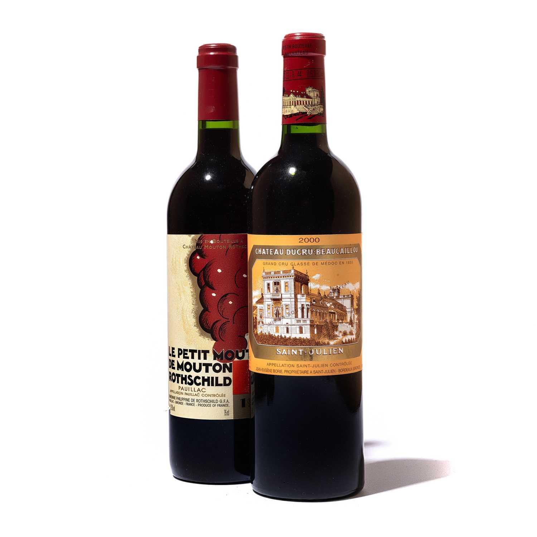 Lot 36 - 2 bottles Mixed Bordeaux