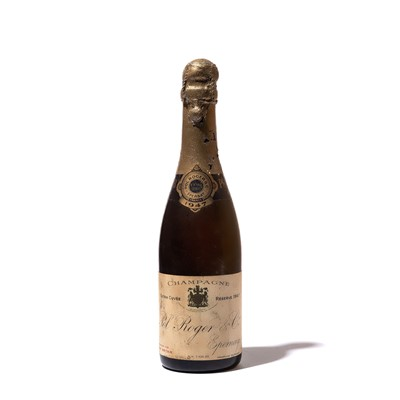 Lot 105 - 1 half-bottle 1947 Pol Roger
