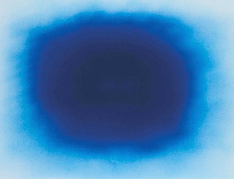 Lot 7-Anish Kapoor (British 1954-), 'Breathing Blue', 2020