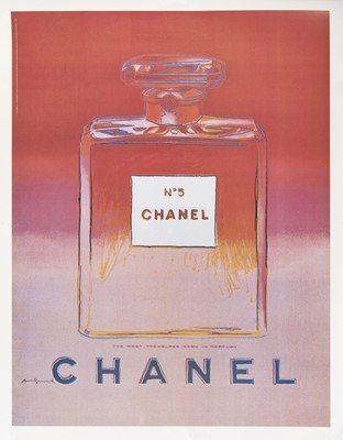 Lot 3-Andy Warhol (American 1928-1987), 'Chanel No.5', 1997