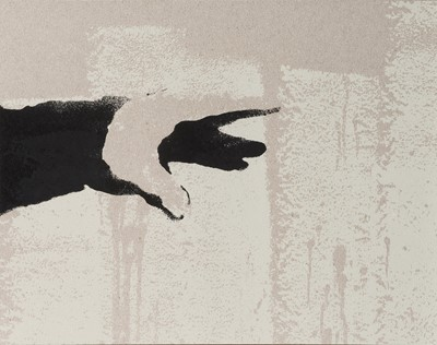 Lot 83-Banksy (British 1974-), 'Thrower (Grey)', 2019