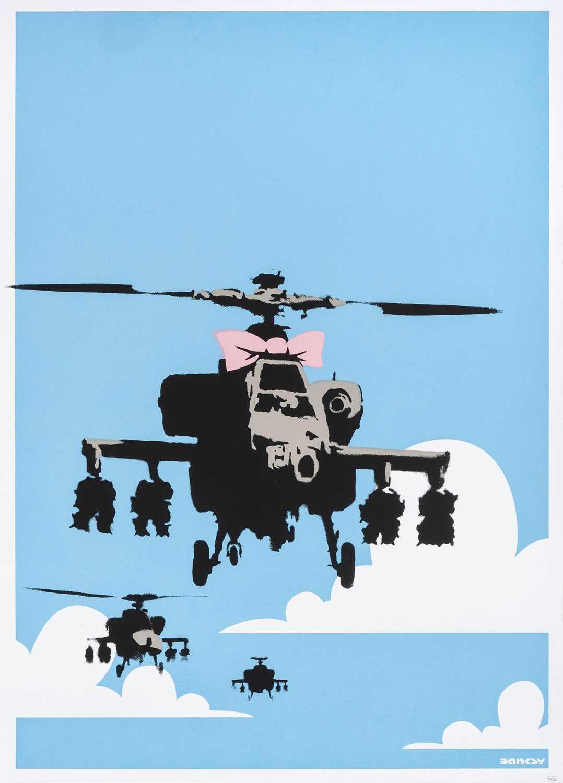 Lot 72 - Banksy (British 1974-), 'Happy Choppers', 2003