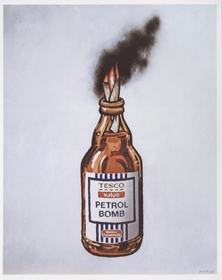 Lot 60 - Banksy (British 1974-), 'Tesco Value Petrol Bomb', 2011