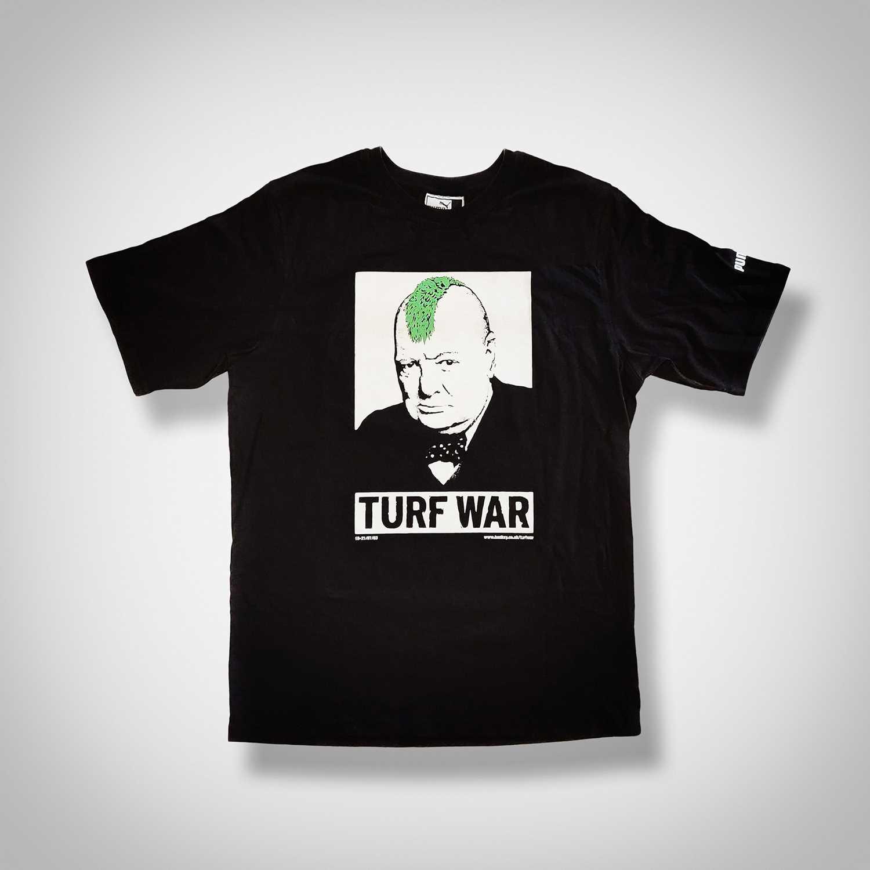 Lot 67-Banksy (British 1974-), 'Turf War', 2003