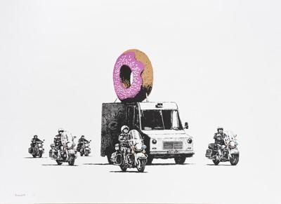 Lot 80 - Banksy (British 1974-), 'Donuts (Strawberry)', 2009