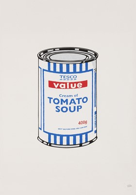 Lot 73 - Banksy (British 1974-), 'Soup Can', 2005